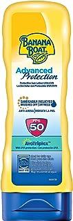 Banana Boat Advanced Protection - Loción Solar con protección indice SPF 50, fórmula Avotriplex, Antiarena y resistente al...