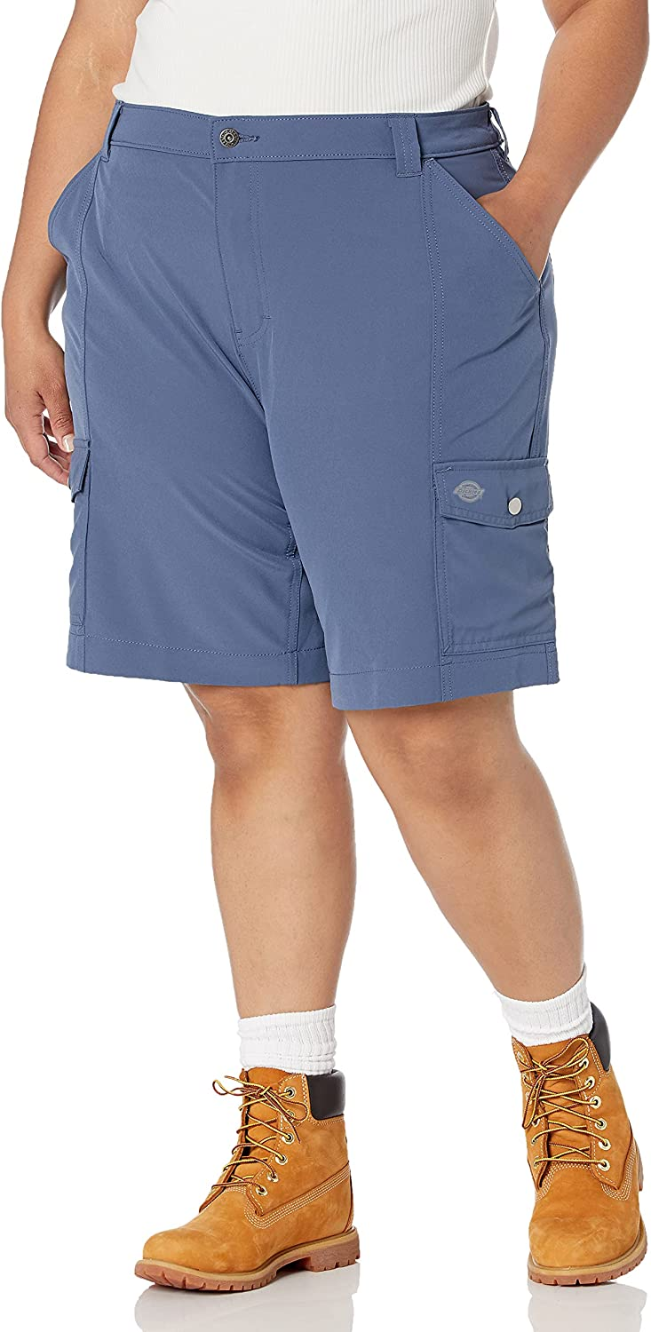 sold out Dickies Women's Plus Size Temp-iq Short free Cargo
