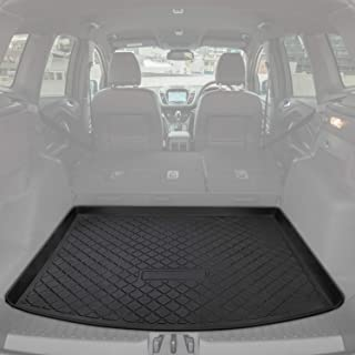 E-cowlboy Trunk Cargo Liner Mat Tray for Ford Escape 2013~2019 Heavy Duty Waterproof Custom Fit - All Seasons Odorless (Black)