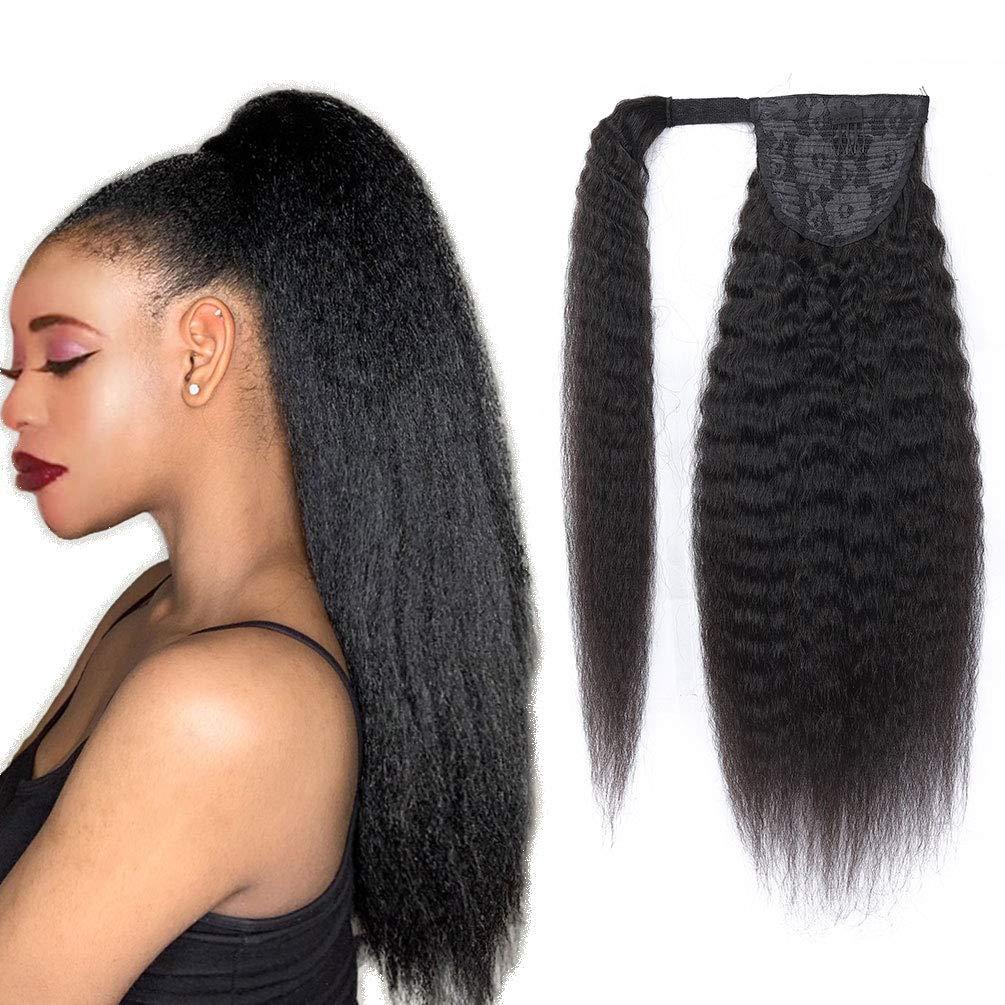 Magic Paste Popular overseas Ponytail Kinky Straight Human Super beauty product restock quality top Hair Afro Ponytai Yaki