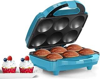 Holstein Housewares HF-09013T Fun Cupcake Maker - Teal/Stainless Steel