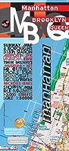 TerraMaps Manhattan Brooklyn Queens Street Maps - Subway - Glossy paper