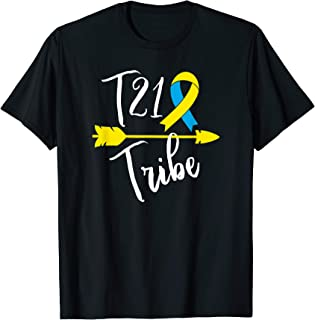 Down Syndrome Awareness T21 Tribe T Shirt