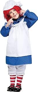Fun World Costumes Baby Girl's Raggedy Ann Toddler Costume