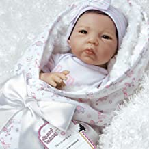 Paradise Galleries Reborn Asian Baby Doll in Lifelike Flextouch Silicone Vinyl Baby Bundles: Spoiled, 19 inch, 7-Piece Ensemble