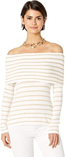 Womens Christin Off-The-Shoulder Sweater