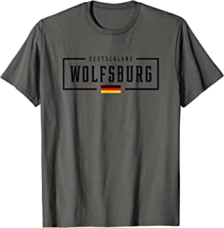 Wolfsburg Deutschland Deutschland Deutschland Fahne Trikot T-Shirt