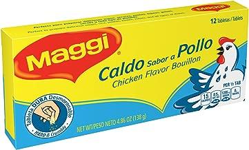 Maggi Chicken Flavor Bouillon Tablets, 4.86 oz