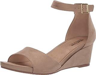 Women's Roll Wedge Ankle Strap Sandal