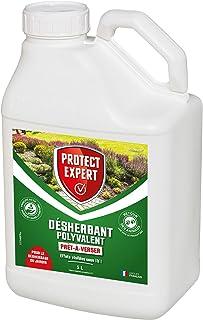 PROTECT EXPERT PROHERBIOPAV5 | Désherbant Polyvalent Prêt-à-Verser | 5L | Action Rapide | Format économique