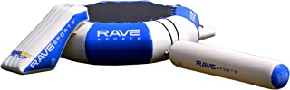 RAVE Sports Splash Zone Plus 12-Foot Water Bouncer with Log, Slide, and Swimming Platform
