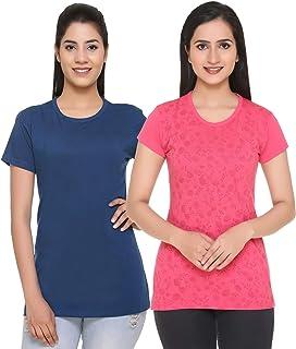 69GAL (105Women T-Shirt (Multicolors) (Pack of 2) (S/M/L/XL/3CL/5XL)