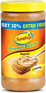 Sundrop Peanut Butter Creamy, 462g (with 46g Extra)