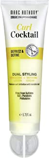 Marc Anthony Curl Cocktail Defrizz and Define, 6.76 Ounce, Sulfate-Free, Two Curly Hair Styling Products in One, Curl Crea...