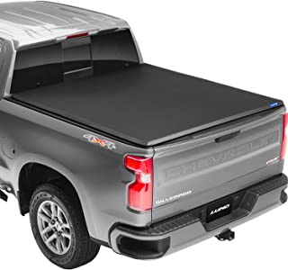 Lund 95072 Genesis Tri-Fold Truck Bed Tonneau Cover for 2004-2014 Ford F-150; 2010-2014 Raptor; 2006-2014 Lincoln Mark LT ...