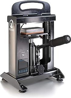 Graveda Graspresso. Prensa de Rosin con Cilindro hidráulico de 10 toneladas. Prensa de Resina. Placas calentadoras de 12 x 6 cm.