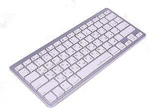 Work Efficiency Russian Language Functional Shortcuts Hotkey Wireless Bluetooth Keyboard for Dell Thinkpad iMac MacBook Pro,iPad Pro 11 12.9, iPad Air Mini,iPhone X XS XR MAX Surface Pro 4 5 6 7