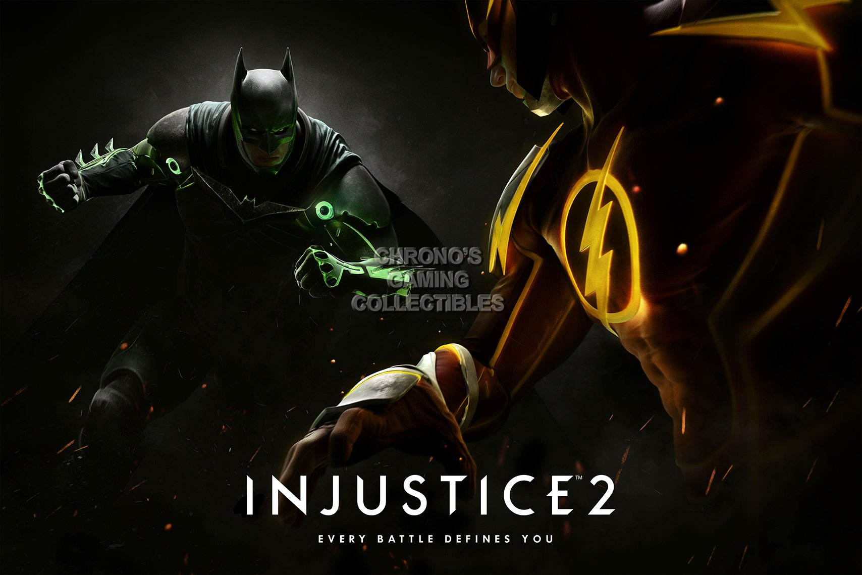 CGC enorme – Póster Injustice 2 PS4 Xbox One – ext457: Amazon.es ...