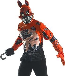 Rubie's Men's Five Nights at Freddy's Deluxe Nightmare Foxy Costume