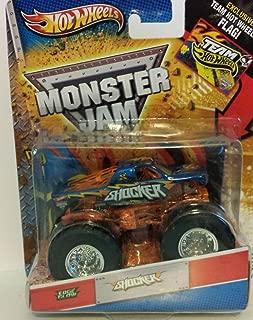 Hot Wheels 2012 Monster jam Shocker Edge Glow Monster trck