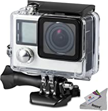 Deyard Waterproof Housing Case for GoPro Hero 4 and Hero 3+ with Quick Release Mount and..