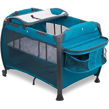 Joovy Room-Playard, Nursery Center, Bassinet, Changing-Table, Turquoise