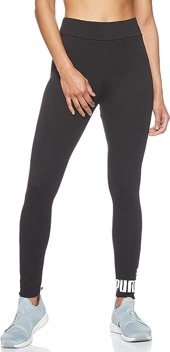 Puma essentials logo, pantaloni compressione donna 851818