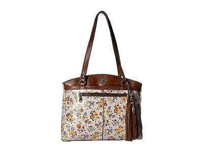 Patricia Nash Poppy Tote w/ Tassel (Mini Meadows) Handbags