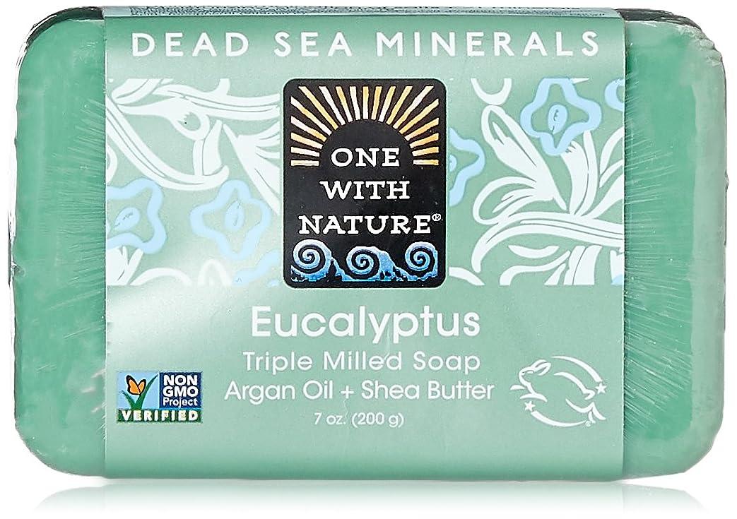 簿記係暗黙ロバOne With Nature Eucalyptus Bar Soap (1x7 Oz) by One With Nature