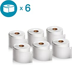 DYMO Authentic LabelWriter Standard Shipping Labels for LabelWriter Label Printers (30256), White, 2-5/16'' x 4'', 6 Rolls of 300