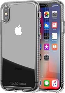 tech21 - Phone Case Compatible with Apple iPhone X - Pure Clear - Clear