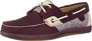 SPERRY Women's Koifish Herringbone Tweed Boat Shoe