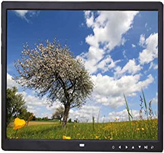 Ultra-Thin Wall-Mounted Electronic Photo Album, High-Definition Music Player Digital Frame (Color : Black, Size : 15 inch ...