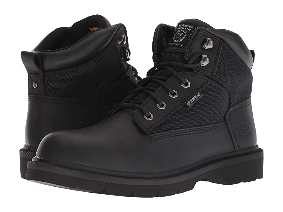 SKECHERS Work Makanix Bridgend (Black) Men