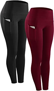 Sponsored Ad - Neleus High Waist Running Workout Leggings for Yoga with Pockets