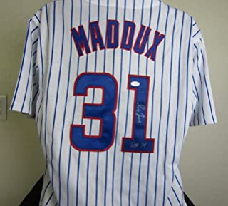 Greg Maddux Autographed signed Chicago Cubs Jersey with