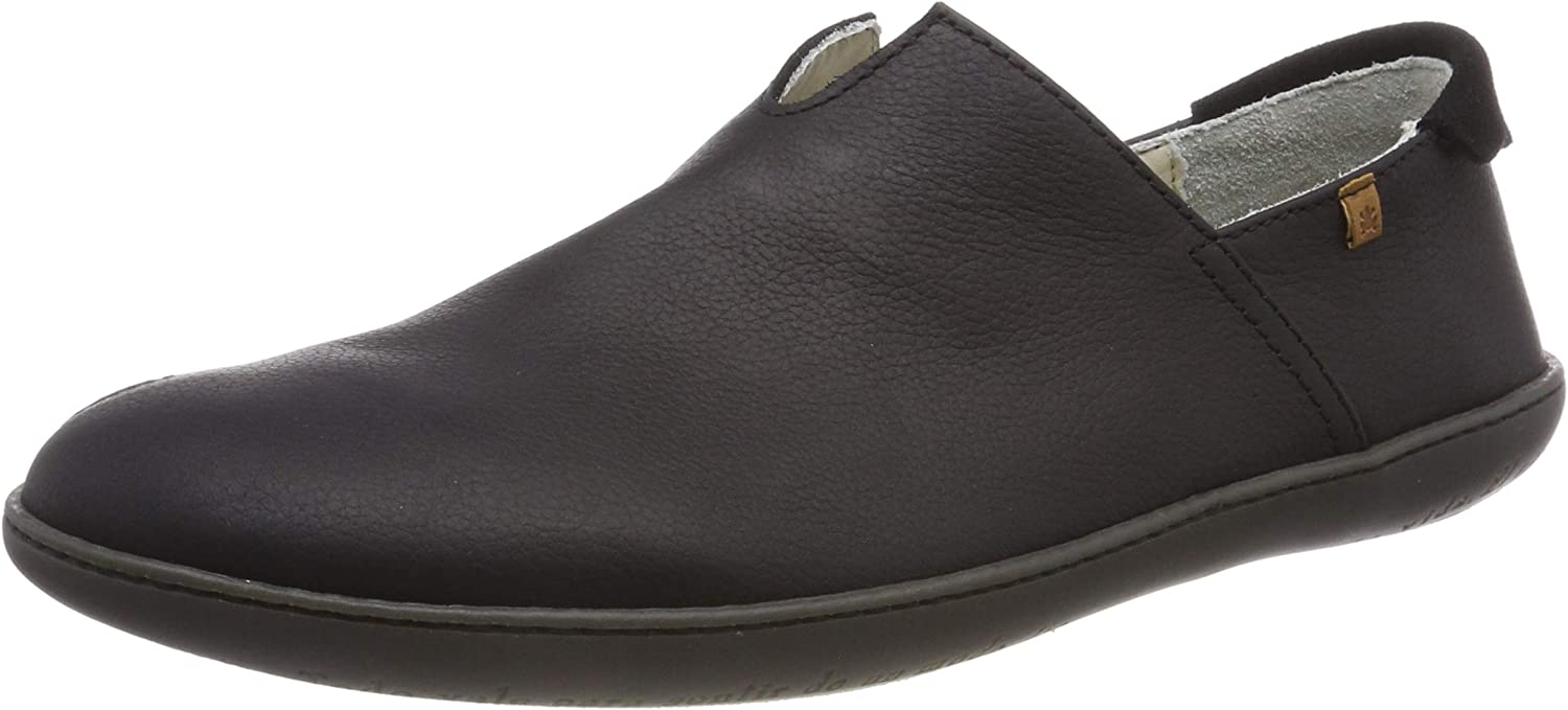El Naturalista Adults' N275 Soft Grain Black El Viajero Slip On Trainers
