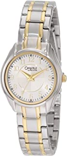 Caravelle by Bulova Women's 45L126 Two tone classic Watch