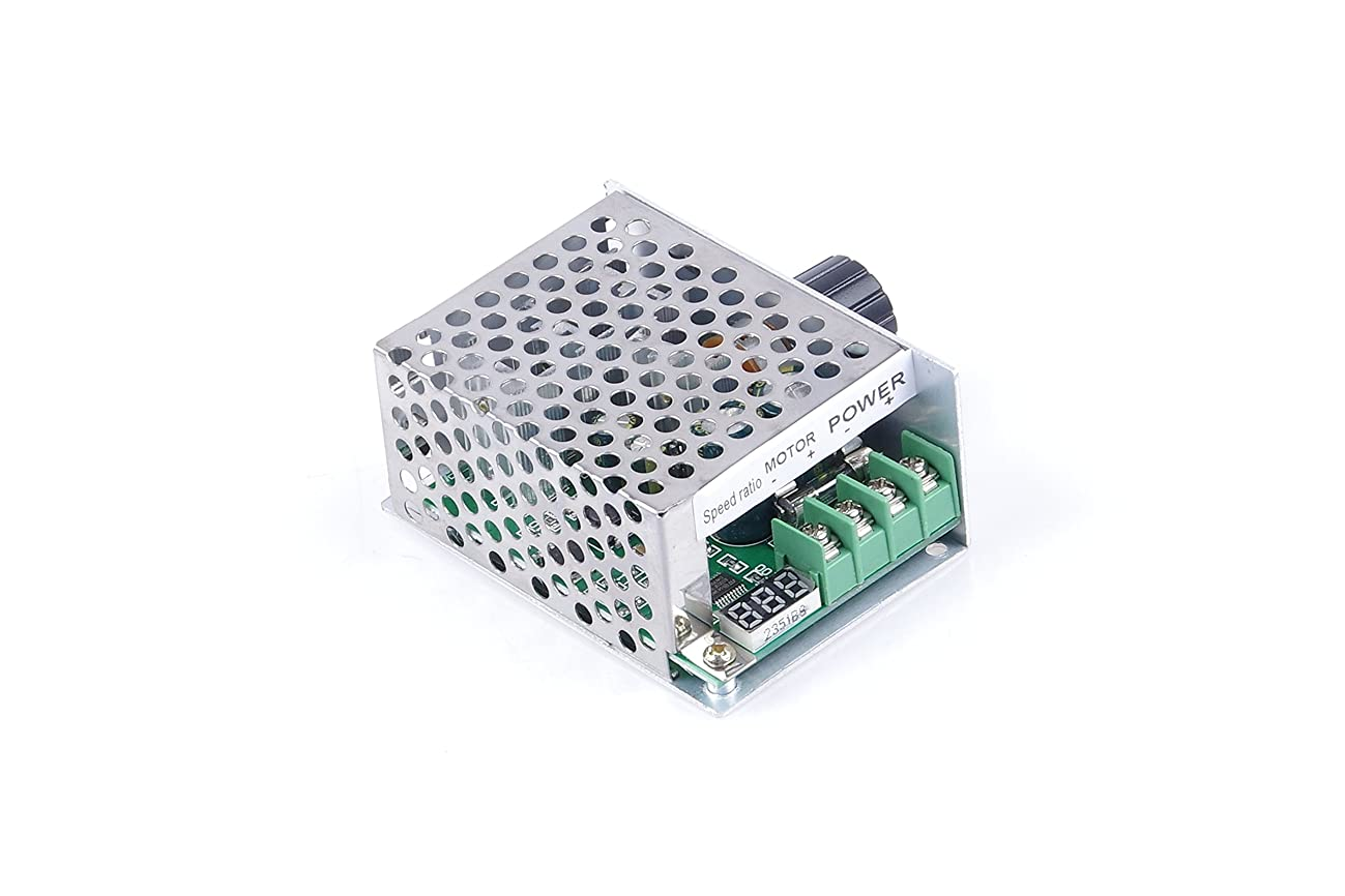 KNACRO Digital Tachometer PWM DC motor speed controller 30A DC 6V/12V/24V/36V/48V/60V (6v - 60v) Max power 1200W Promise electronic motor switch