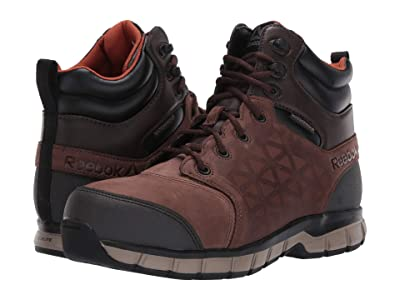 Reebok Work Sublite Cushion Work (Brown) Men