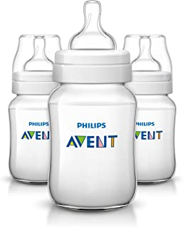 Philips Avent Classic Plus Feeding Bottle SCF563/37 (260ml/9oz) x Pack of 3 Bottles