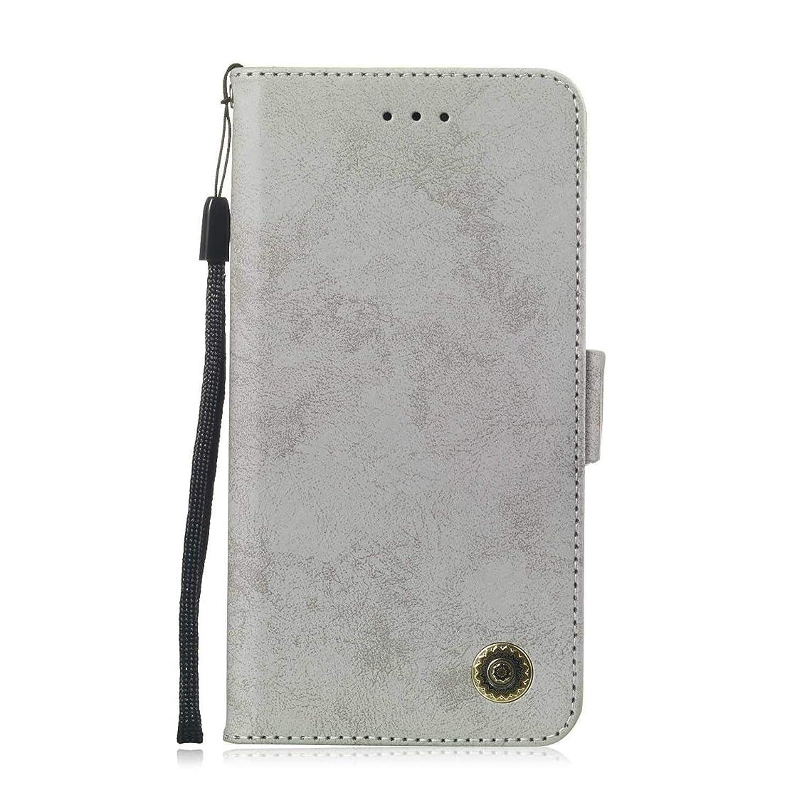 労働者性交繰り返すZeebox? Huawei Mate 20 Lite 手帳型ケース Huawei Mate 20 Lite 手帳型カバー 財布型 合皮PUレザー マグネット式 保護ケース カード収納 スタンド 機能 (グレー #5)