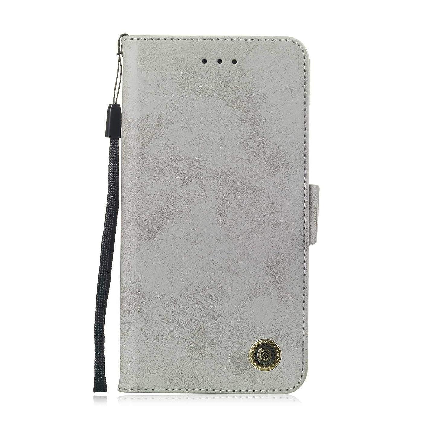 おとこ一貫したパイプラインZeebox? Huawei Mate 20 Lite 手帳型ケース Huawei Mate 20 Lite 手帳型カバー 財布型 合皮PUレザー マグネット式 保護ケース カード収納 スタンド 機能 (グレー #5)