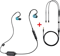 Shure Special Edition SE215SPEB-BT1 Wireless Bluetooth Sound Isolating Earphones (Blue) with RMCE Remote/Mic Cable