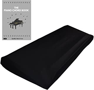 Stretchable Keyboard Dust Cover for 61 Key-keyboard: Best for all Digital Pianos & Consoles – Adjustable Elastic Cord; Mac...