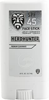 Headhunter SPF 45 Sunscreen Face Stick - Clear / White