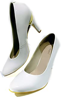 Hype Latest Collection, Comfortable & Fashionable Bellies Heels Bellies for Women's and Girls.(Patent Leather)