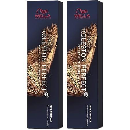 Wella Koleston Perfect Me+ KP Pure Naturals 6/0 - Pack de 2 unidades, color rubio oscuro