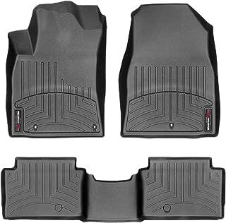 WeatherTech Custom Fit FloorLiner for Hyundai Elantra GT - 1st & 2nd Row (Black)