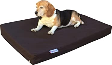 Sponsored Ad - Dogbed4less Heavy Duty Memory Foam Dog Bed | Pressure-Relief Orthopedic, Waterproof Lining and 2 Washable E...